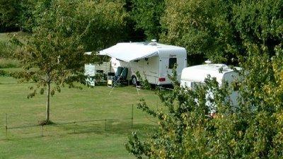 Picture of Hamperden End Caravan Site, Essex - View on the Hamperden End Caravan Site