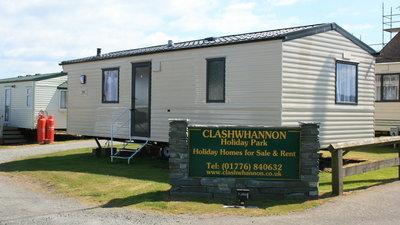 Static caracan on Clashwhannon caravan park (© clashwhannon caravan park)