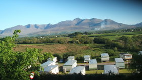 Wests Caravan Park, Killorglin, RIng of Kerry, Panoramic view