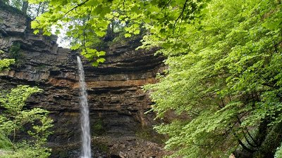 Hardraw Force Waterfall  (© © Copyright Andrew Huggett (https://www.geograph.org.uk/profile/1943) and licensed for reuse (http://www.geograph.org.uk/reuse.php?id=44131) under this Creative Commons Licence (https://creativecommons.org/licenses/by-sa/2.0/).)