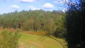 Old A3 Hindhead (© Martinvl [CC BY-SA 3.0 (https://creativecommons.org/licenses/by-sa/3.0)], from Wikimedia Commons (original photo: https://commons.wikimedia.org/wiki/File:Old_A3_Hindhead.JPG))