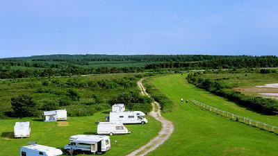 Picture of Exeter Racecourse Caravan Club Site, Devon, South West England