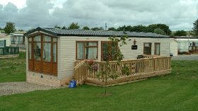 Our holiday home on the park