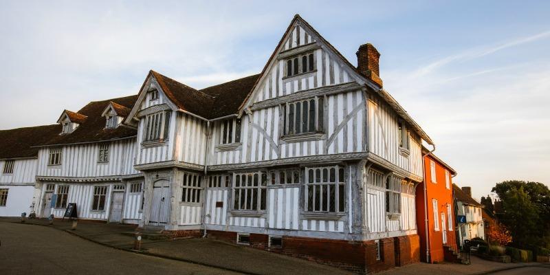 Medieval Village Suffolk - Guildhall Lavenham