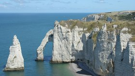 In the Nord region - Etretat