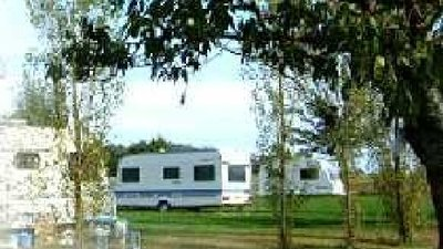 Photo of the caravan on the site