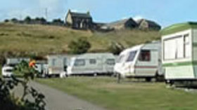 Our pitches on the caravan park