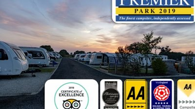 new caravan award logos