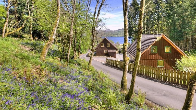 Loch Tay Highland Lodges - Beautiful area at Loch Tay Highland Lodges