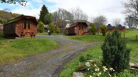 Hobbit hut holidays in Scotland - Cruachan Farm Caravan & Camping Park