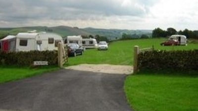 Photo of the tourers on the site