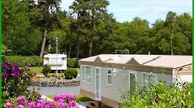 Our static caravans on the caravan park