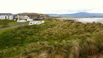 Strandhill Caravan & Camping Park - For a surfing holiday in Ireland, use Caravan Sitefinder to discover more about Strandhill Caravan & Camping Park, Co Sligo, Eire.  (© Practical Motorhome / Practical Caravan)
