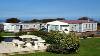 On the site - Holiday homes at the leisure park