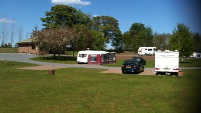 A nice summers day at Slatebarns near the caravan site