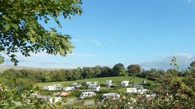Early Sept at Thornbrook Barn (© Thornbrook Barn Caravan Site)