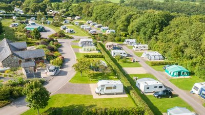 Monkton Wyld Camping Caravanning Motorhomes West Dorset 23