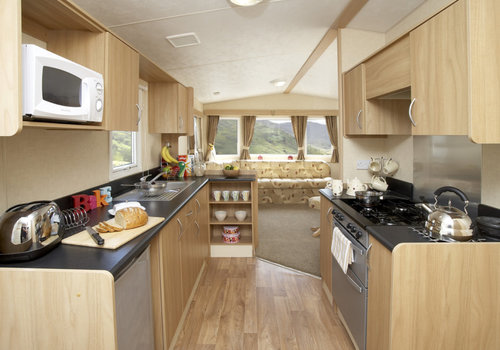 Photo of Holiday Home/Static caravan: Newer model Classic Extra 12' Wide 3 Bed Caravan