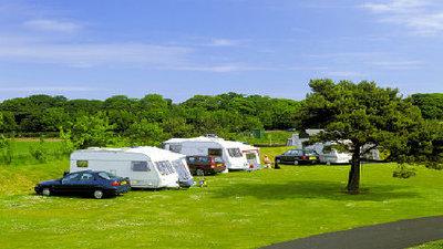 Picture of Yellowcraig Caravan Club Site, Lothian, Scotland
