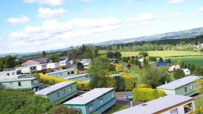 Picture of Dalmore Caravan Park, Powys, Wales