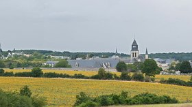 Area in the region - Fontevraud-l'Abbaye Panorama (July 2011) (© By Diliff (Own work) [CC BY-SA 3.0 (http://creativecommons.org/licenses/by-sa/3.0) or GFDL (http://www.gnu.org/copyleft/fdl.html)], via Wikimedia Commons (GFDL copy: https://en.wikipedia.org/wiki/GNU_Free_Documentation_License, original photo: https://commons.wikimedia.org/wiki/File:Fontevraud-l%27Abbaye_Panorama,_France_-_July_2011.jpg))