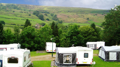 Touring at Rosedale Abbey (© Flower of May)