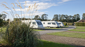 Touring Pitches on the caravan site