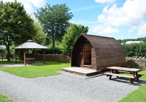 Photo of Camping pod: Barbon Hill Glamping Pod