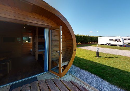 Photo of Camping pod: Super Deluxe Glamping Pod