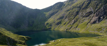 Llyn Cau, on the Cadar Idris mountain - <i>Llyn Cau, on the Cadar Idris mountain</i>