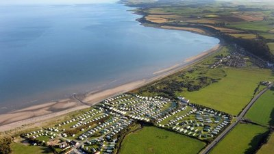 Aerial Photograph of the Caravan Park