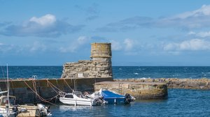 Holidays in Scotland - Dunure Harbour near The Ranch Holiday Park, South Ayrshire