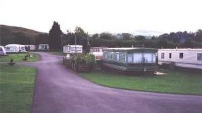 Picture of Tytandderwen Caravan Park, Gwynedd, Wales - Nice view from the entrance to the park