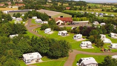 Aerial park photo