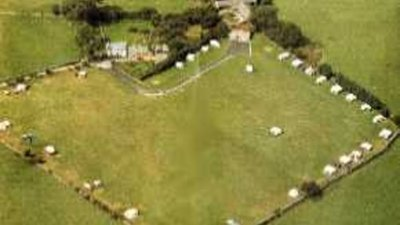 Picture of Llwyn Bugeilydd Caravan & Camping, Gwynedd, Wales - View of Llwyn Bugeilydd Caravan & Camping from the top