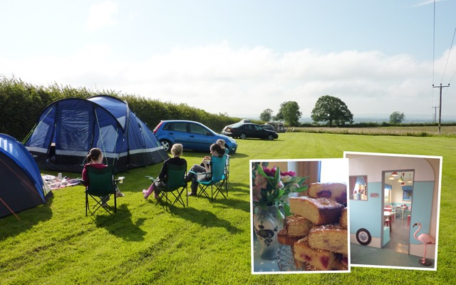 Visit Wiltshire and stay at charming Merkins Farm