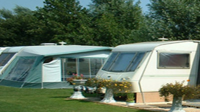 Picture of Muston Grange Caravan Park, North Yorkshire, North of England - Tourers and tents at Muston Grange Caravan Park