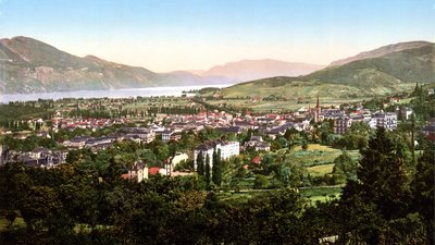 Aix-les-Bains, General view (© By Detroit Publishing Company [Public domain], via Wikimedia Commons)