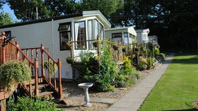 Photo of holiday homes at Acre Farm Caravan Park