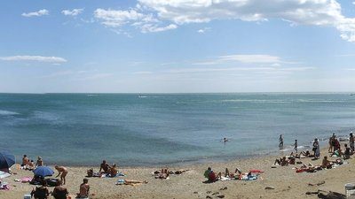 Cap d'Agde plage grande conque (© By Chnarlok (Self-photographed) [CC0], via Wikimedia Commons)