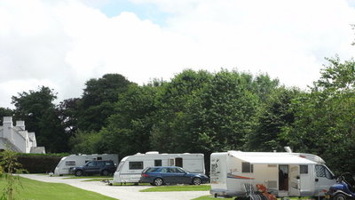 Picture of Woodovis Park, Devon, South West England - These are our Super Pitches on the Tamar View Field, they come with 16A hook-up, water and grey waste drainage and TV aerial hook-up.