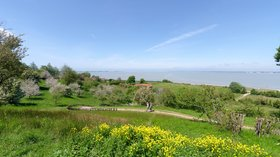 campsite in north France - Baie de Somme
