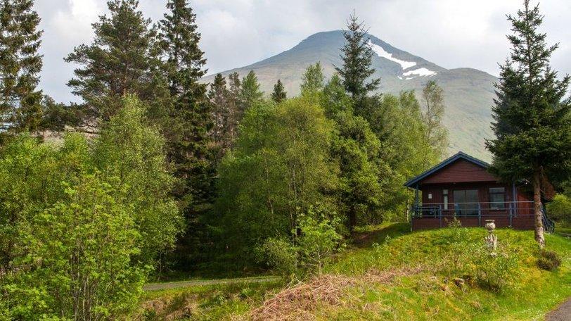 holiday in the Scottish Highlands - Portnellan log cabins, Scotland