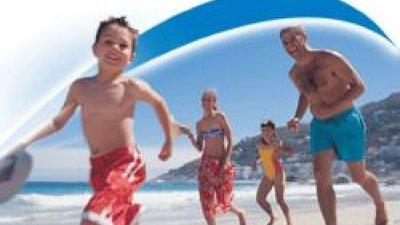Picture of kids having fun near Seafield Caravan Park