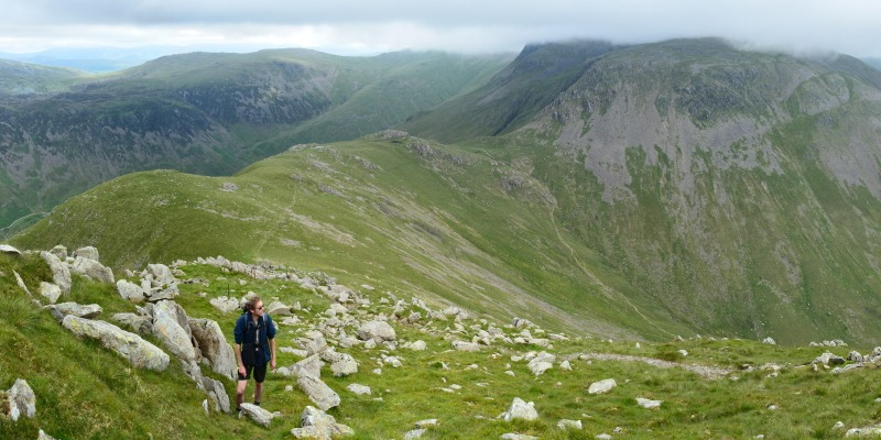 Hiking in the Lake District - <i>Hiking in the Lake District</i>