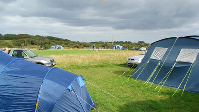 Photo of the camping field