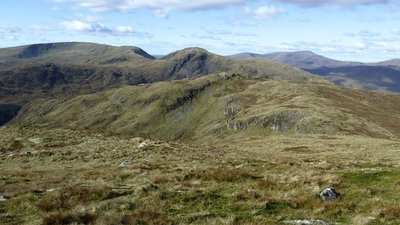 Panorama of Galloway hills from Red Gairy  (© © Copyright Anthony O'Neil (https://www.geograph.org.uk/profile/41966) and licensed for reuse (http://www.geograph.org.uk/reuse.php?id=3705086) under this Creative Commons Licence (https://creativecommons.org/licenses/by-sa/2.0/).)