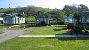 Holiday park in west Wales - Glanlerry Caravan Park, west Wales