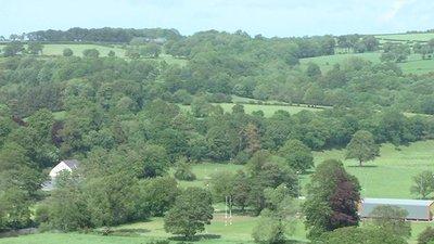 Dol Wiber Playing Fields Newcastle Emlyn RFC (© Emlyn [Public domain], via Wikimedia Commons)
