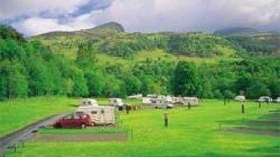 Wonderful views from the Maragowan Caravan Club Site